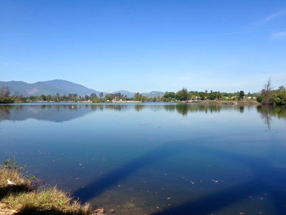 Sông An Tân. Ảnh: LÊ THÍ
