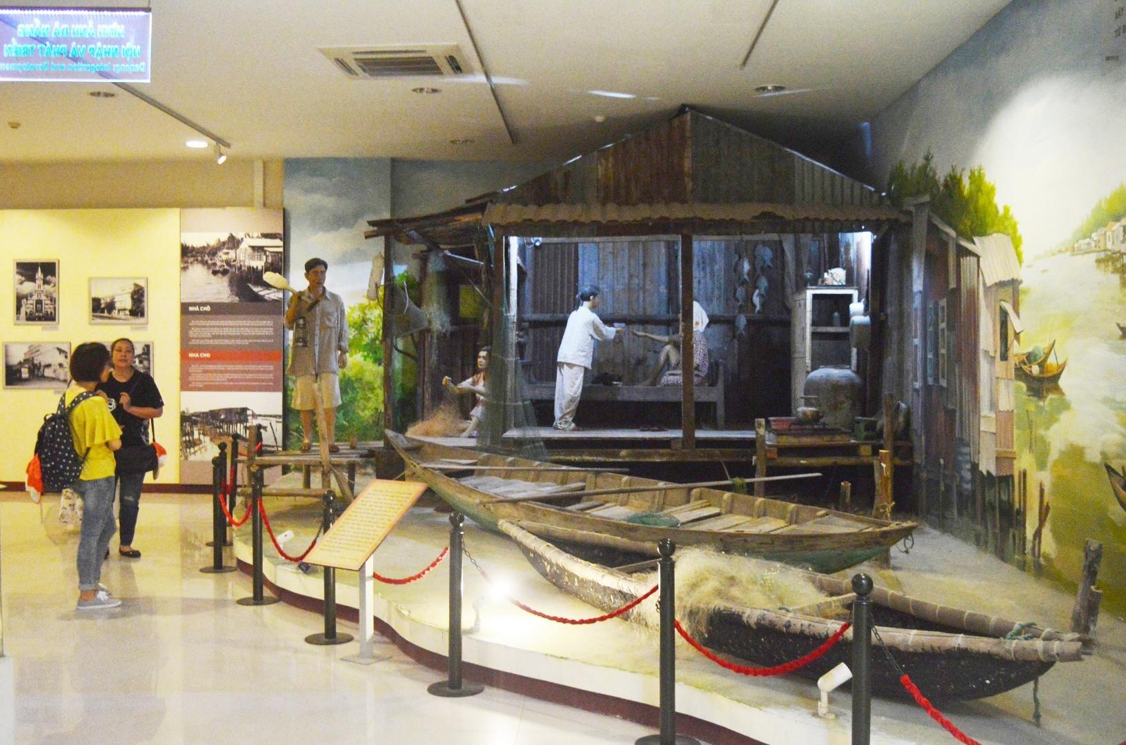 Một góc Bảo tàng Đà Nẵng. Ảnh: Q.T