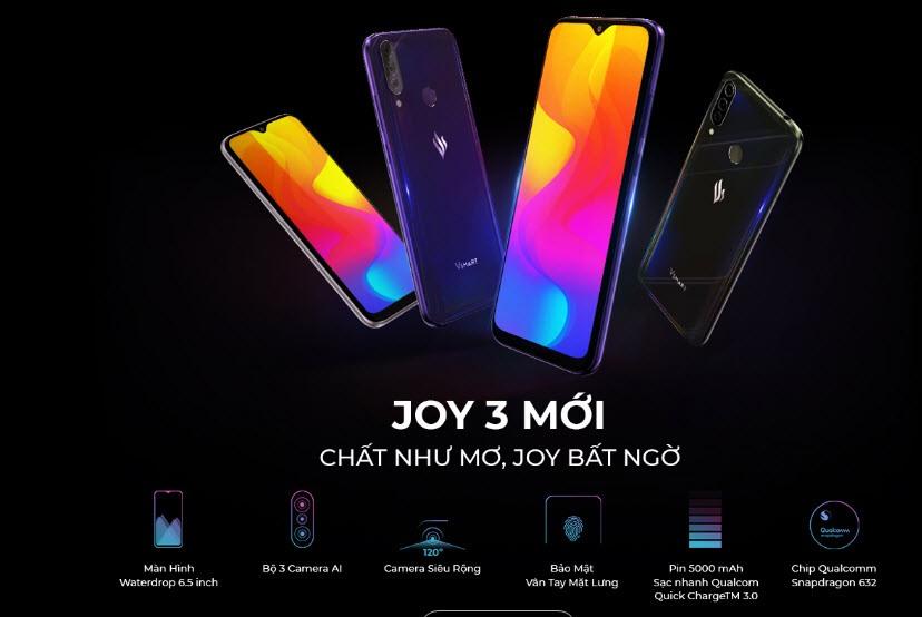 Điện thoại Vinsmart Joy 3