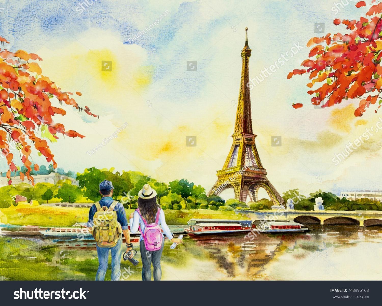 """Được mệnh danh là """"thành phố của tình yêu"""", Paris (Pháp) không thể thiếu trong danh sách những điểm đến lãng mạn nhất thế giới cho các cặp đôi theo gợi ý của CNN. Ảnh: shutterstock"""