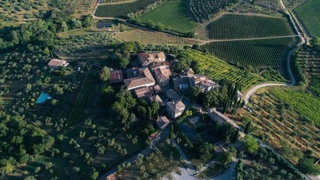Đa số những danh thắng tại vùng đất Tuscany được cho là đẹp nhất Italia đều được UNESCO công nhận là di sản văn hóa thế giới. Tuscany còn sở hữu những lâu đài của tình yêu làm say lòng du khách. Ảnh: Courtesy Castello di Ama