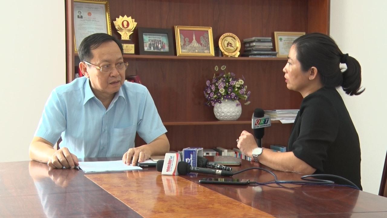 Ông Nguyễn Văn Hai - Giám đốc Sở Y tế, người phát ngôn của Ban chỉ đạo cấp tỉnh phòng chống dịch bệnh viêm đường hô hấp cấp do chủng mới của vi rút corona (Covid-19)