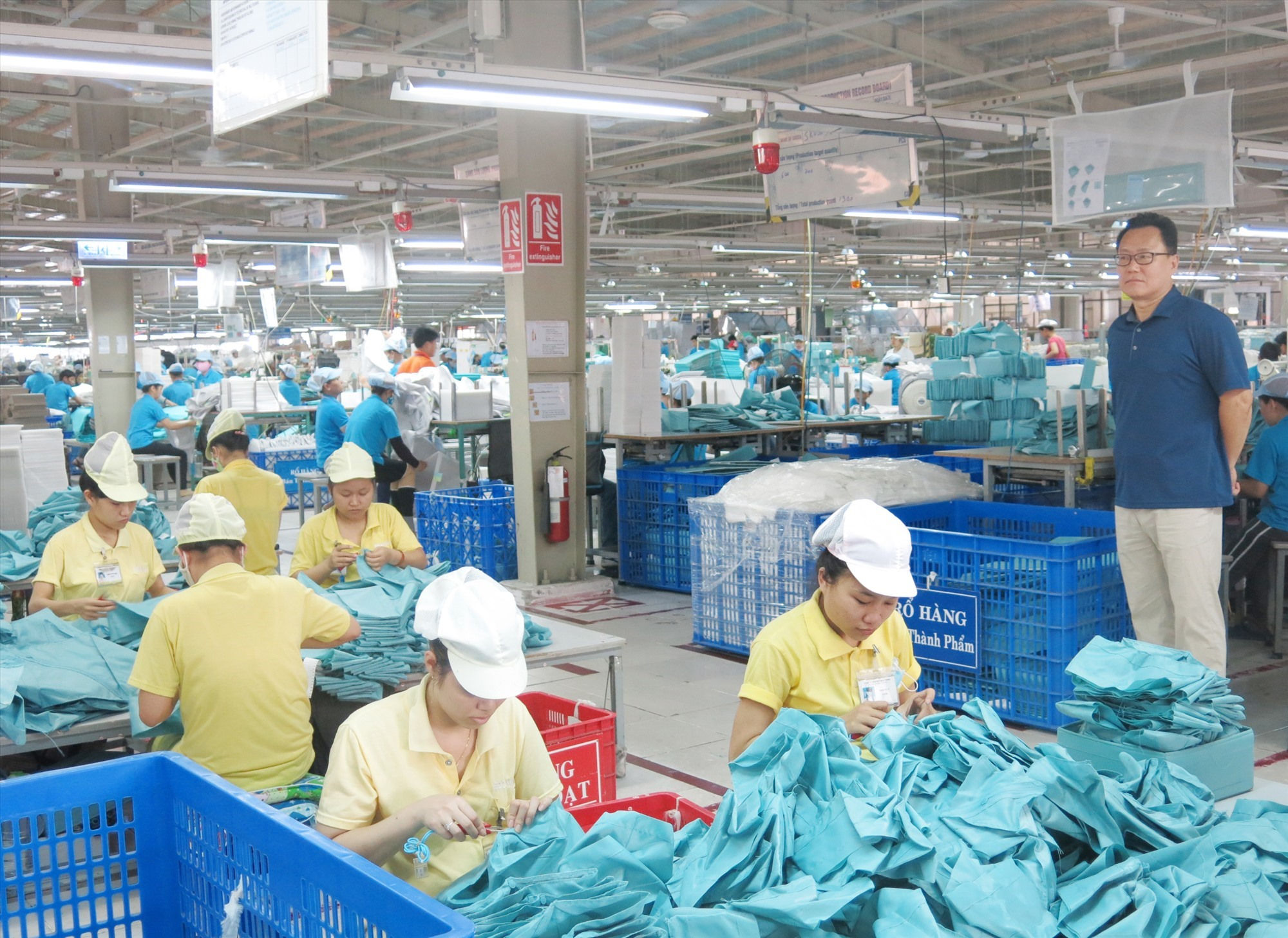 Textile, garment and agro-fishery products are seen as Quang Nam powers in export to the EU market.