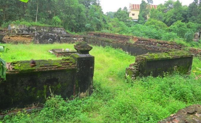 Lăng mộ của Nguyễn Phước Lan ở Huế.