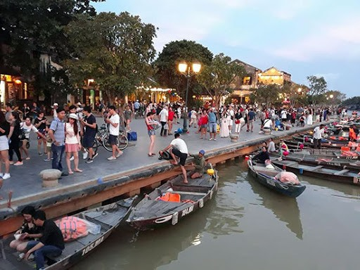 In Hoi An city, Quang Nam province