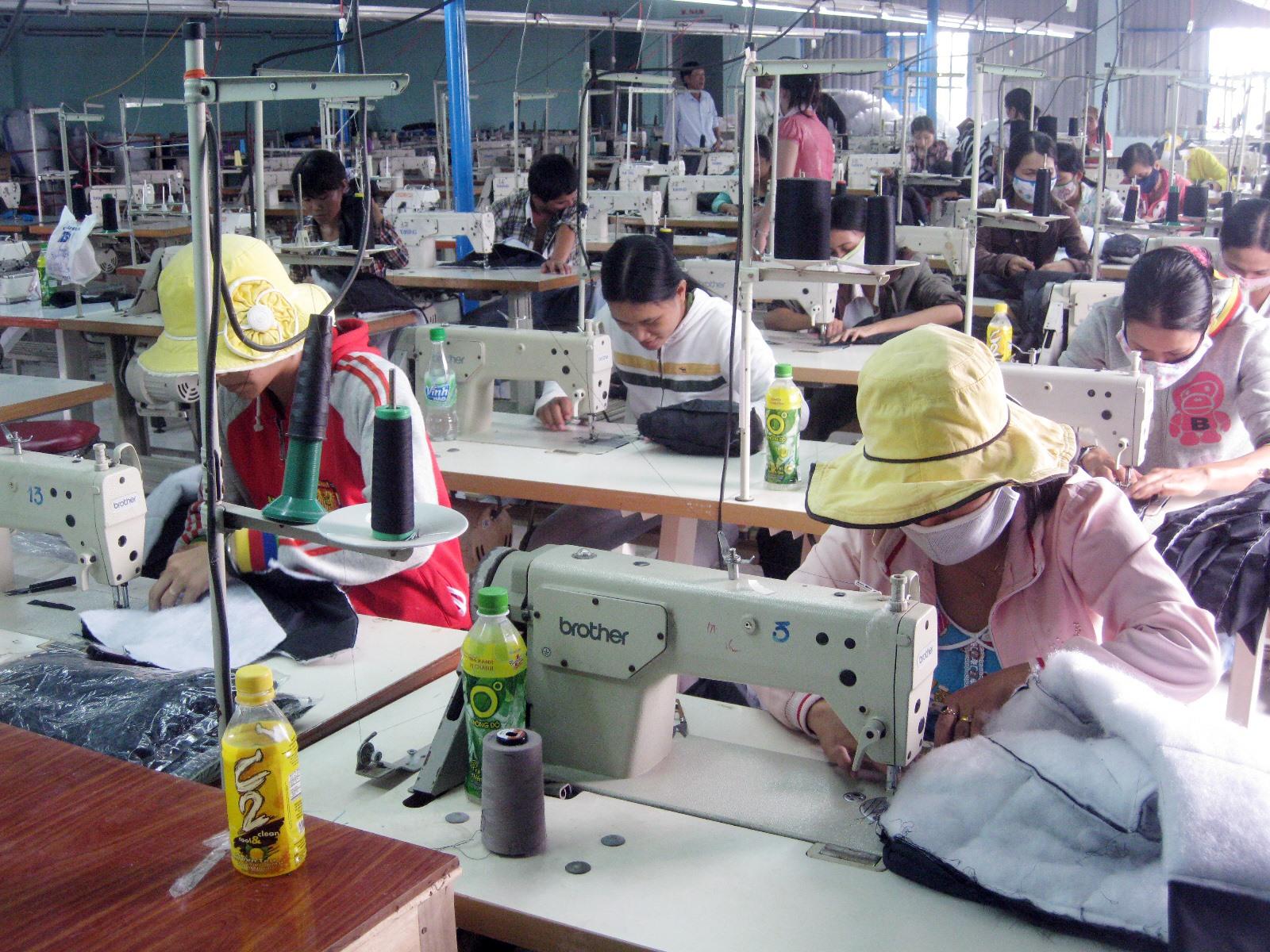 Núi Thành đang tập trung nhiều giải pháp nhằm giữ vững và nâng cao tốc độ phát triển công nghiệp trên địa bàn. Ảnh: T.C