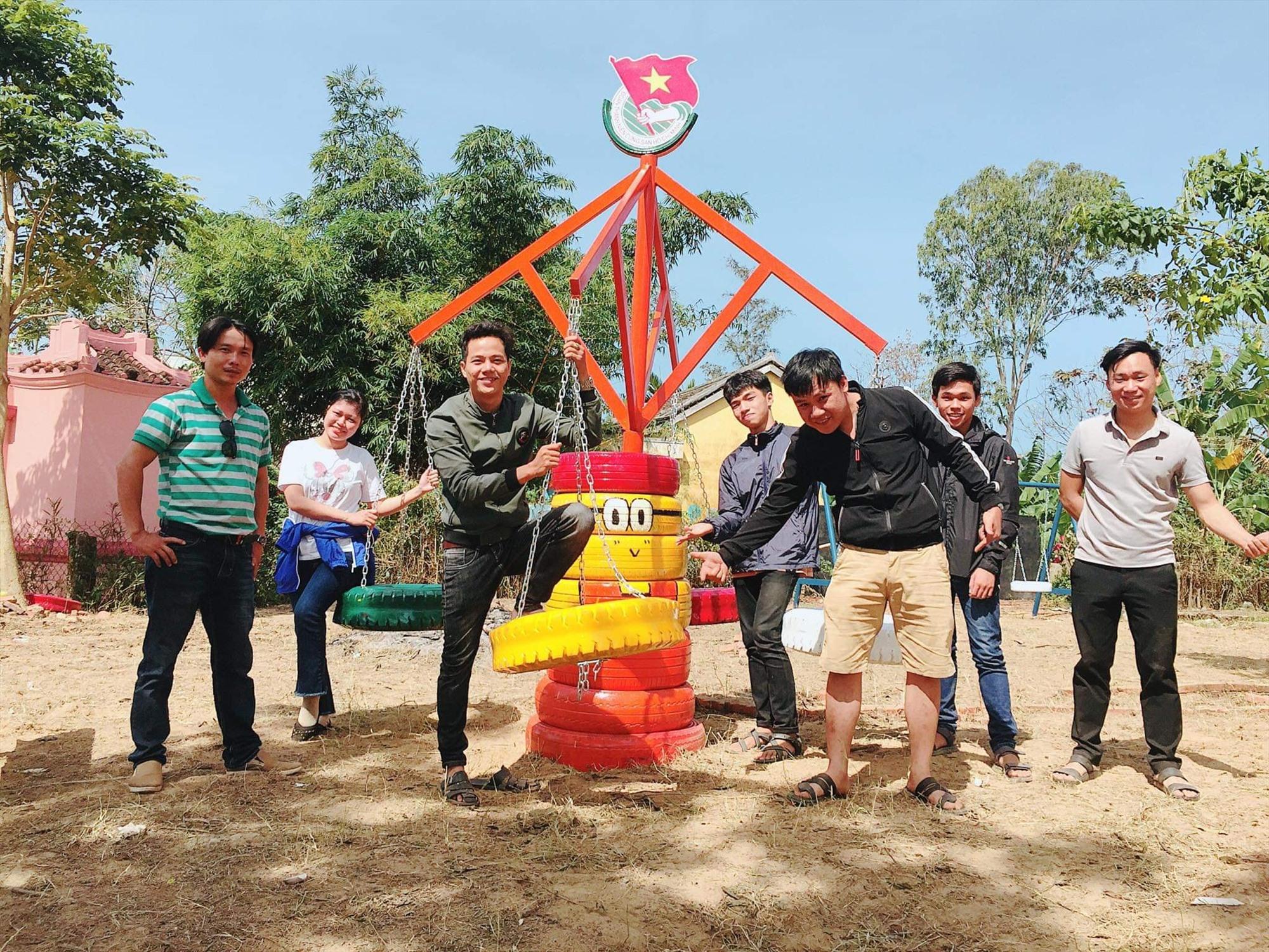 Đoàn phường thực hiện công trình hành trình thứ 2 của lốp xe.