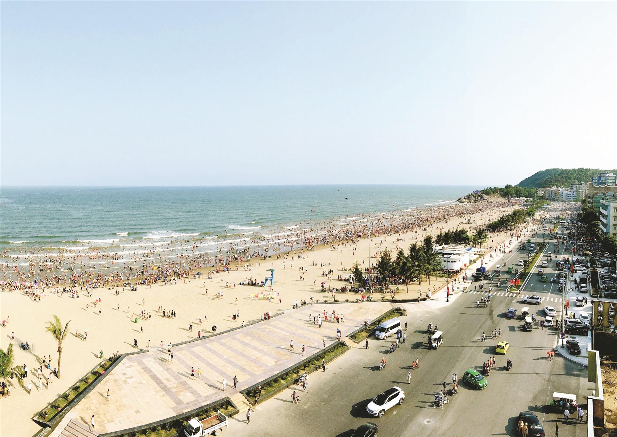 Thanh Hóa cũng là địa phương có thế mạnh về du lịch biển.