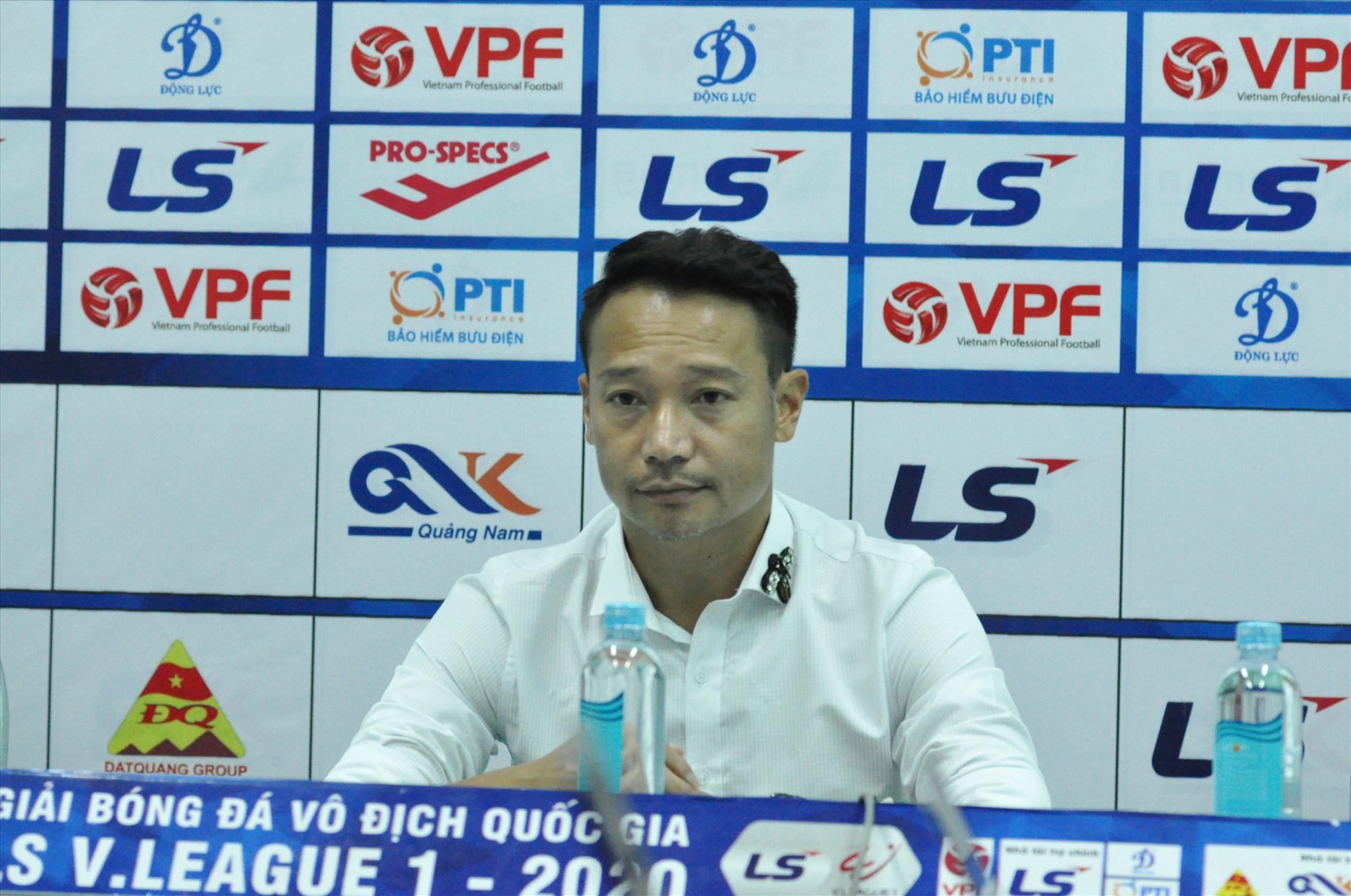 Hy vọng HLV Vũ Hồng Việt sẽ có đối sách hợp lý như đã từng thể hiện tại Hải Phòng mùa giải trước. Ảnh: A.S
