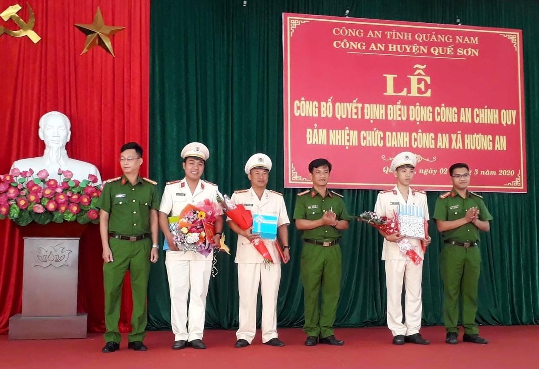 Điều động công an chính quy về thị trấn Hương An