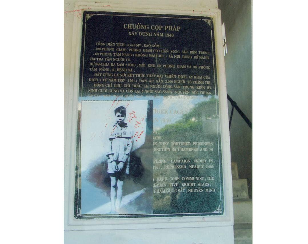 Hình ảnh Đinh Văn Lời thời đi tù Côn Đảo (1968).