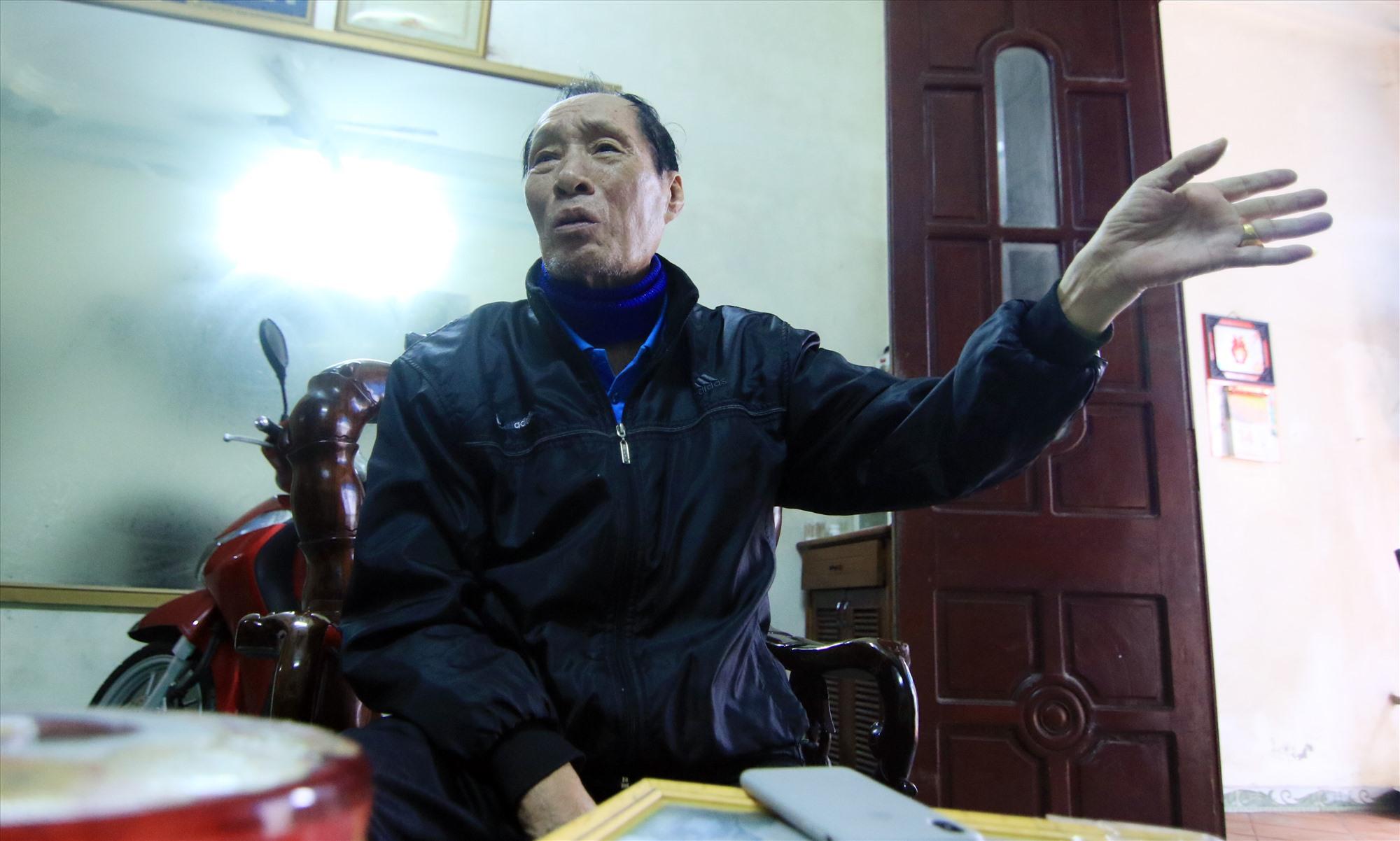 Ông Lê Quang Phúc - Trưởng ban liên lạc Tiểu đoàn Đặc công Lam Sơn (Thanh Hóa).