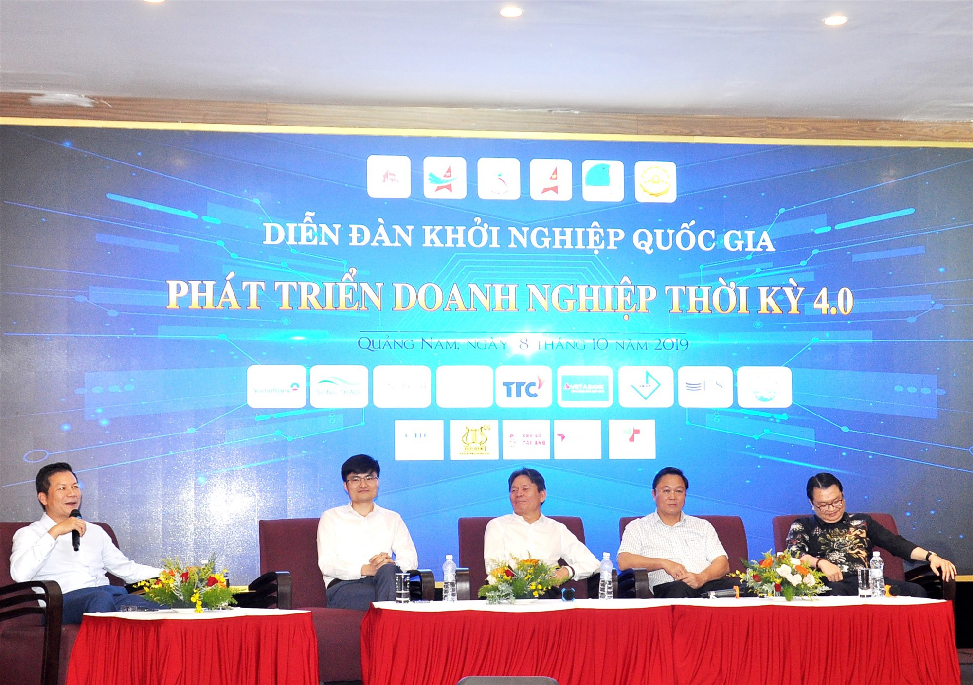 QNB hỗ trợ tổ chức các diễn đàn khởi nghiệp tại Quảng Nam. TRONG ẢNH: Diễn đàn khởi nghiệp quốc gia về phát triển doanh nghiệp thời kỳ 4.0. Ảnh: VINH ANH