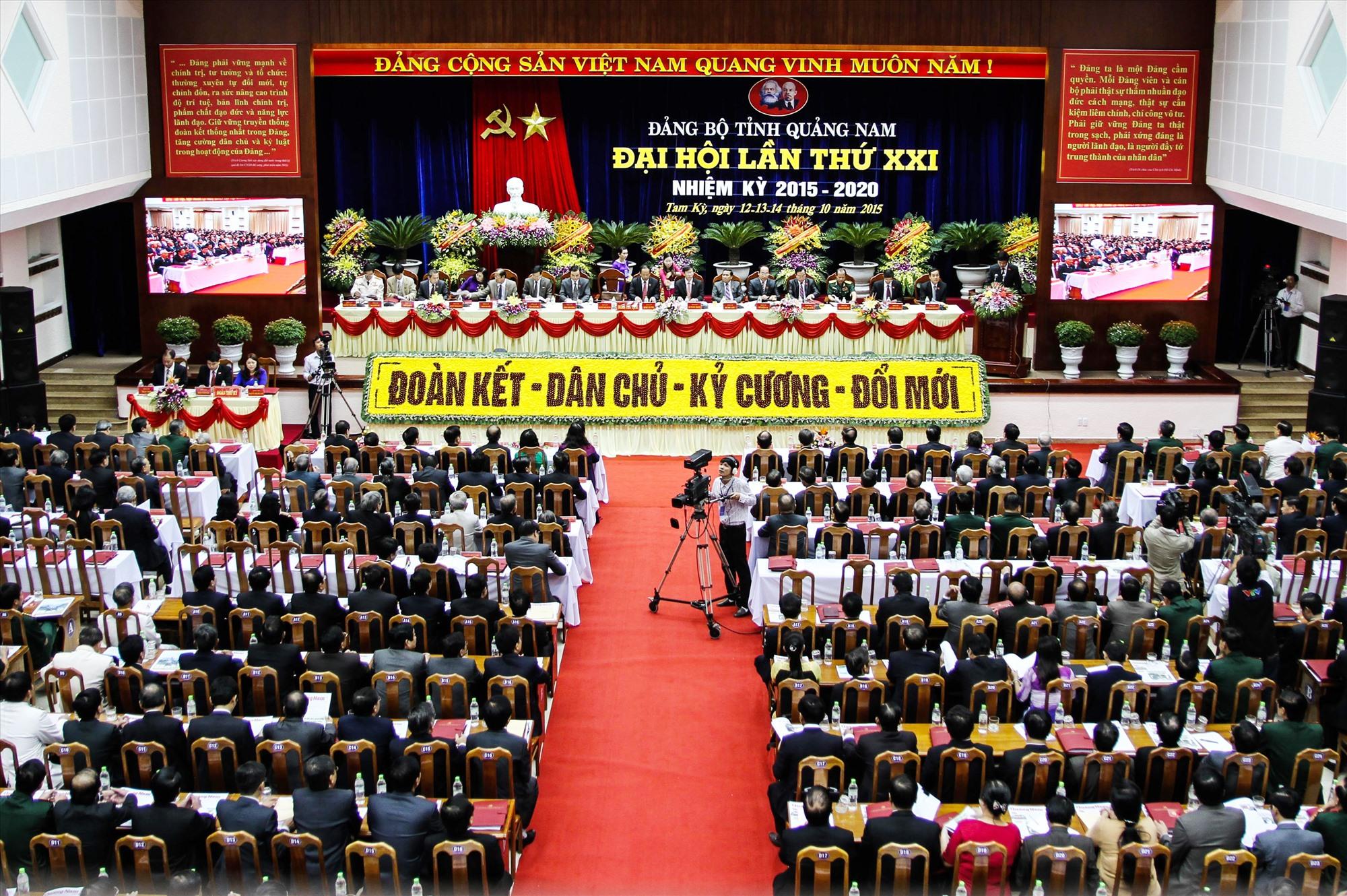 Từ một tổ chức đảng với hơn 80 đảng viên, đến nay Đảng bộ Quảng Nam có 68.882 đảng viên đang sinh hoạt tại 3.202 chi bộ trực thuộc 1.152 tổ chức cơ sở đảng.