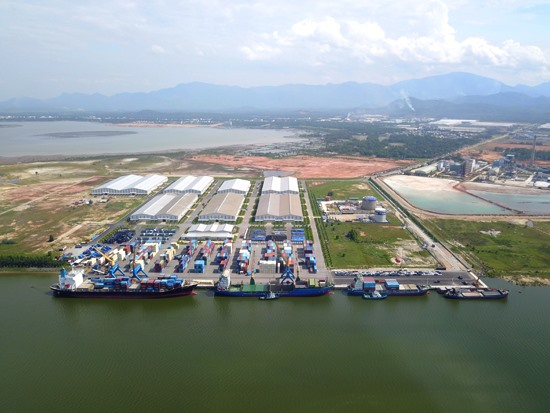 Chu Lai- Truong Hai seaport- motivation for Eastern Quang Nam development.