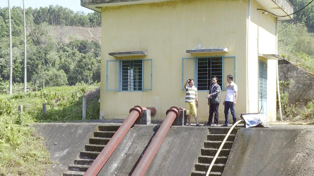 Đầu tư thủy lợi là động lực để phát triển kinh tế vườn, trang trại của huyện Tiên Phước. Ảnh: T.B