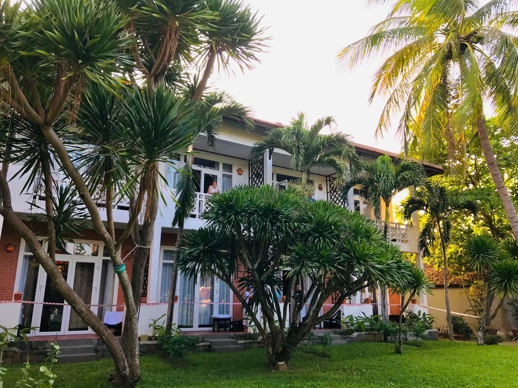 A corner of the Hoi An Beach Resort