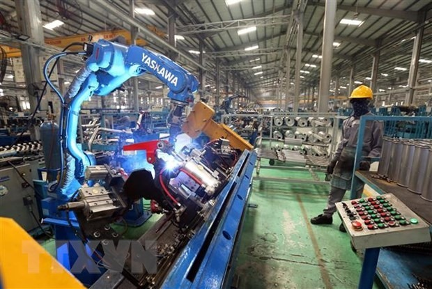 THACO's production line in the Chu Lai OEZ. Photo: TTXVN