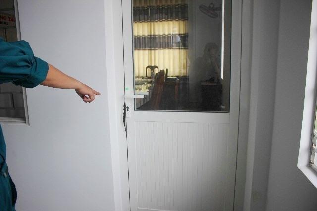 Hiện trường vụ trộm đột nhập trụ sở UBND xã Tam Xuân 1 vào tháng 8.2019