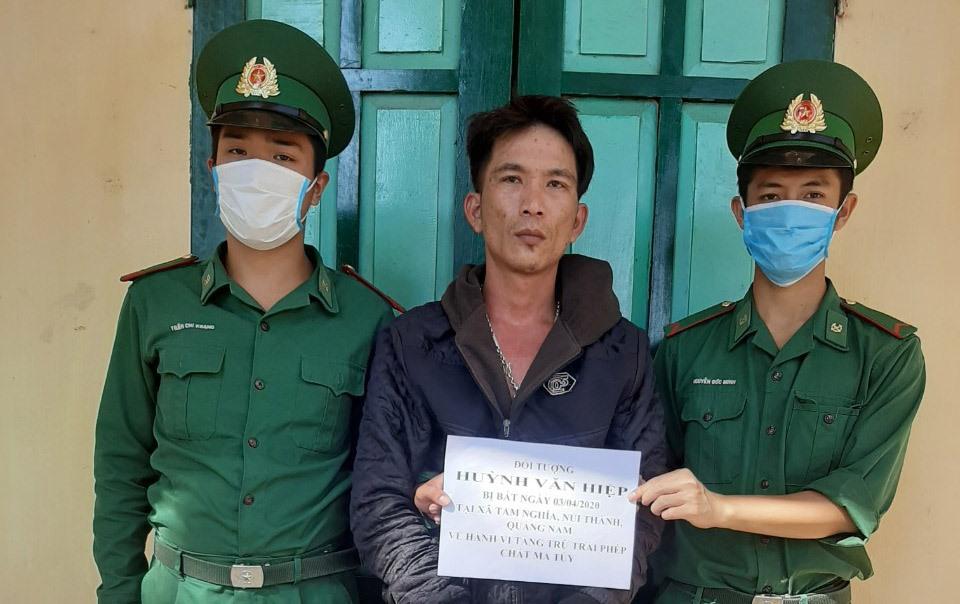 Đối tượng Huỳnh Văn Hiệp. Ảnh: H.A