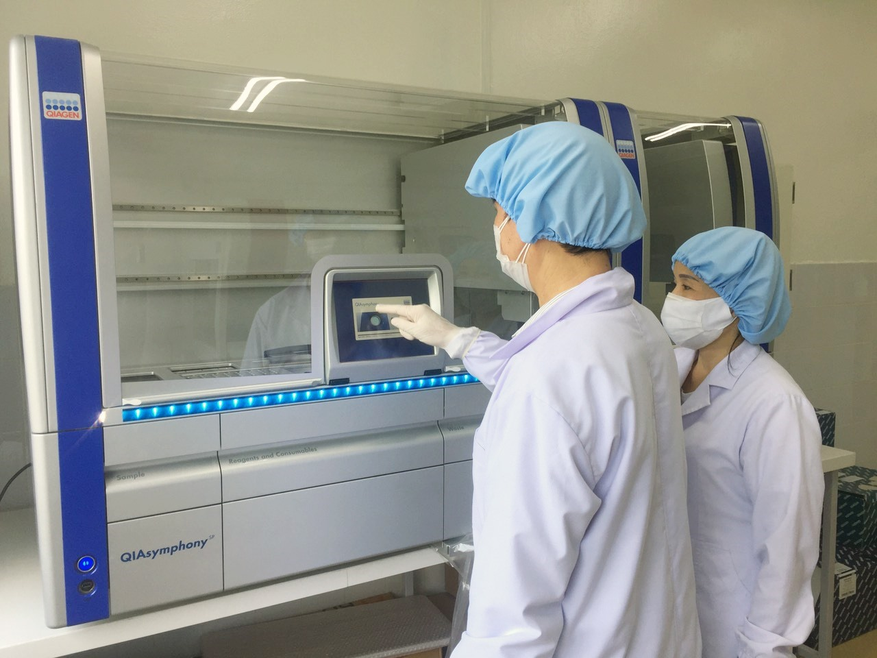 Diagnostic Test for SARS-CoV-2 in Quang Nam