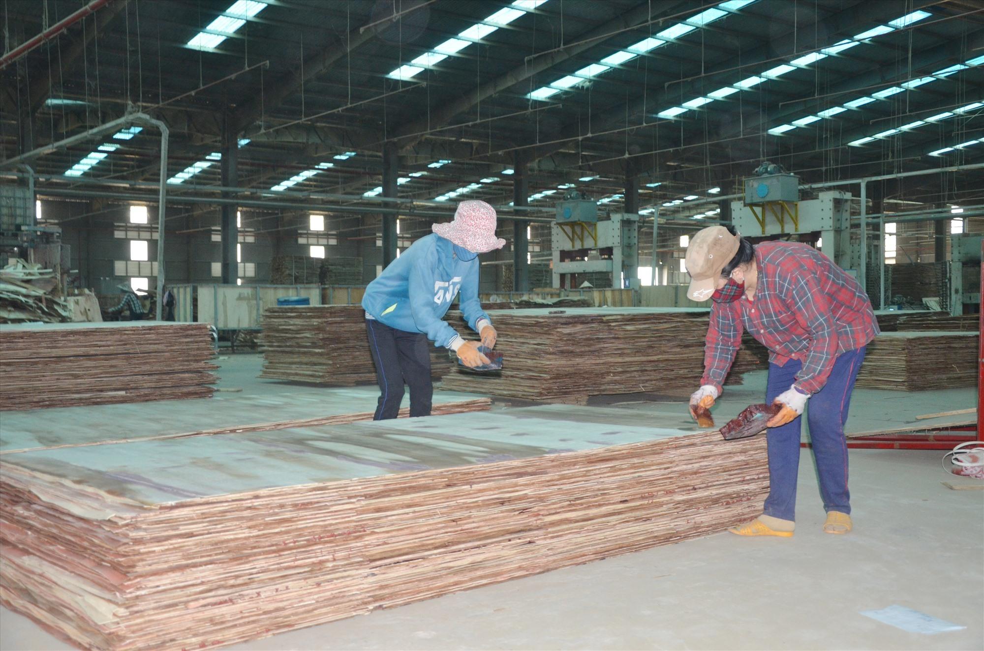 MDF production line (Quang Nam Industrial Wood JSC)