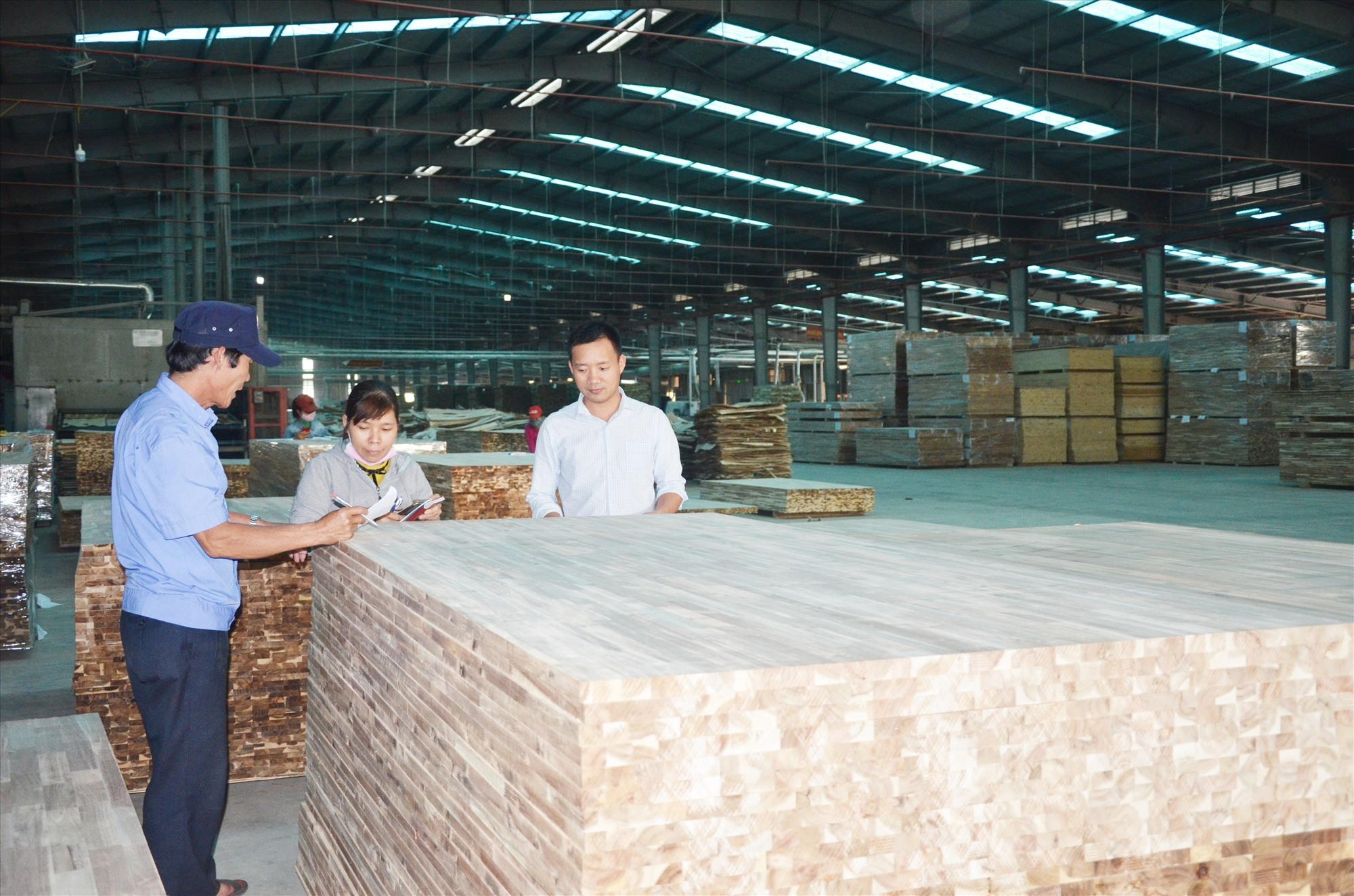 Quang Nam's timber products