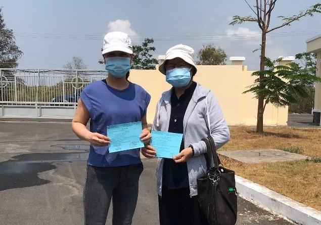 Hai trường hợp được công bố khỏi bệnh tại Bệnh viện Điều trị Covid-19 Cần Giờ