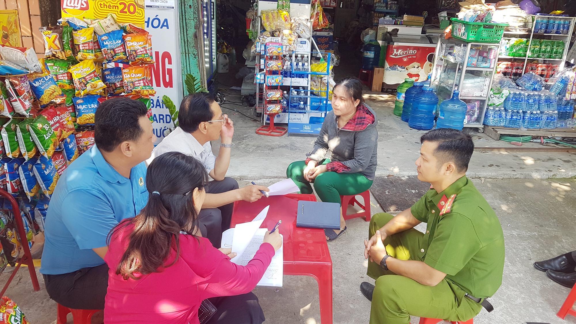 Nhiều chủ nhà trọ trên địa bàn xã Tam Thăng (TP.Tam Kỳ) đồng ý giảm giá phòng cho thuê trọ từ 20 - 50% để hỗ trợ công nhân lao động. Ảnh: D.L