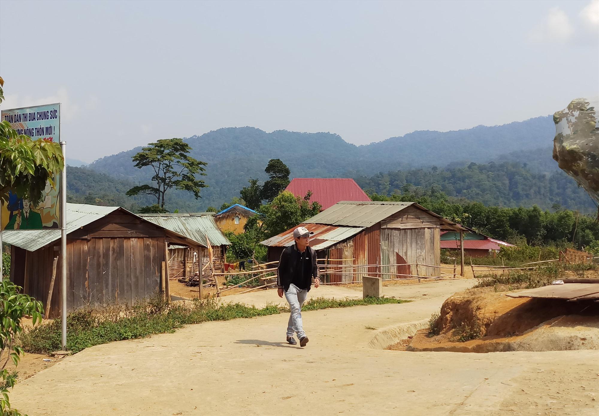 Một góc bình yên thôn 2 (xã Phước Lộc). Ảnh: ALĂNG NGƯỚC