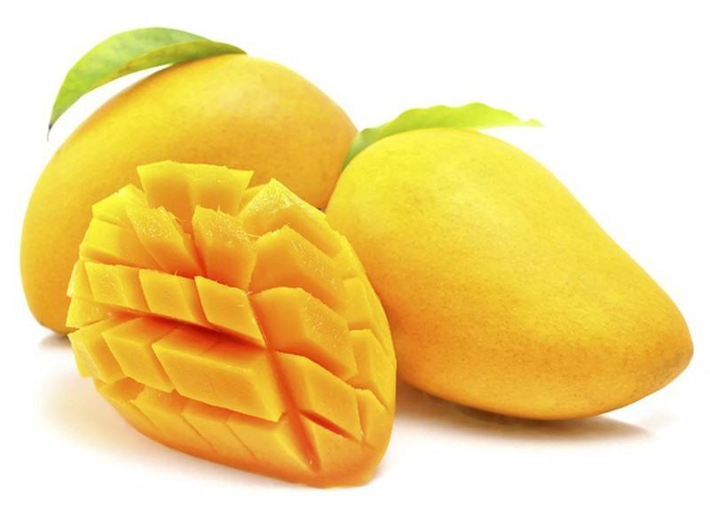 Trong xoài có chứa chất xơ và beta-carotene có hiệu quả trong việc giảm huyết áp. Ảnh: Internet