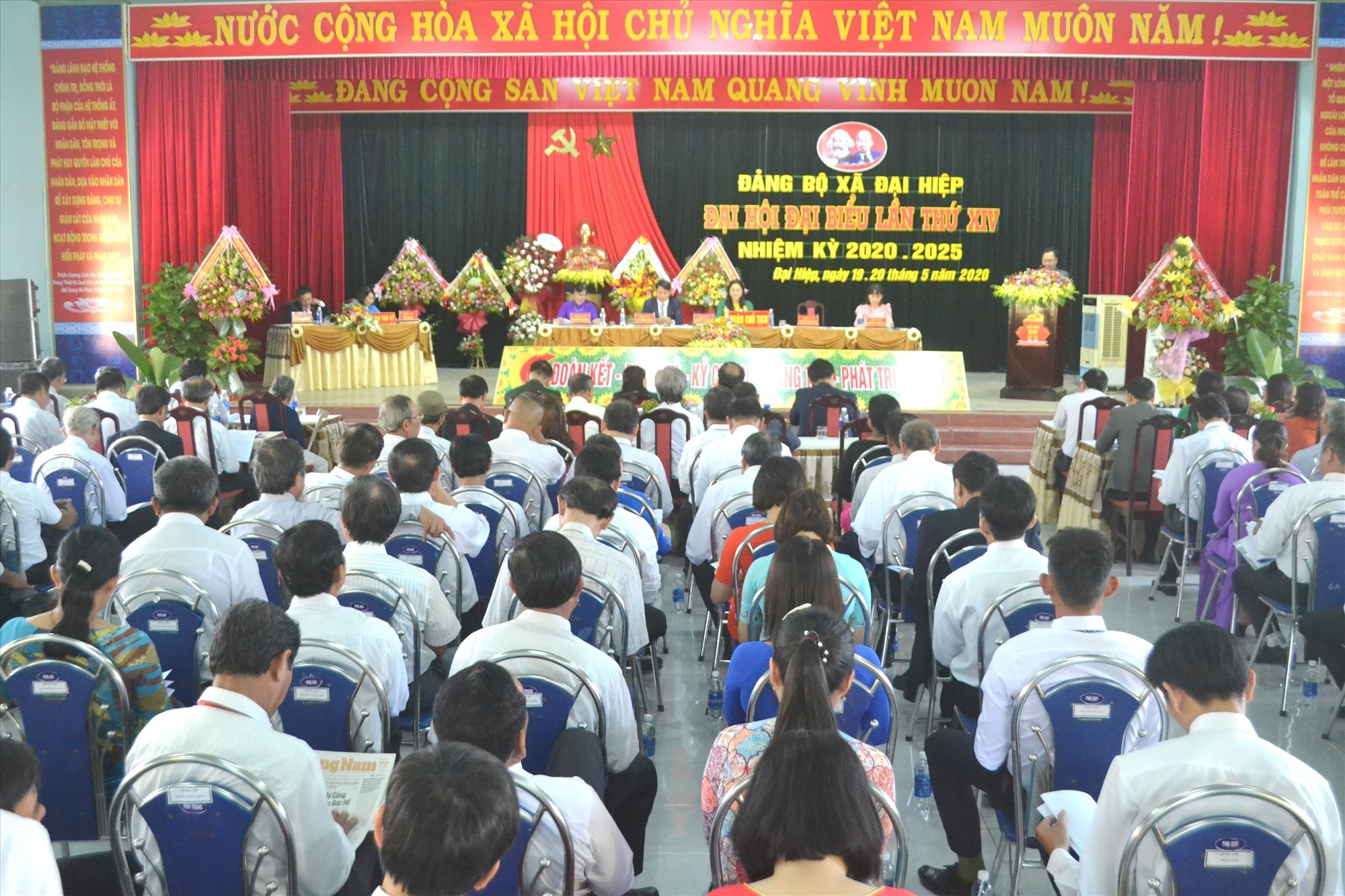 Đại hội có sự tham dự của 150 đại biểu chính thức. Ảnh: CT