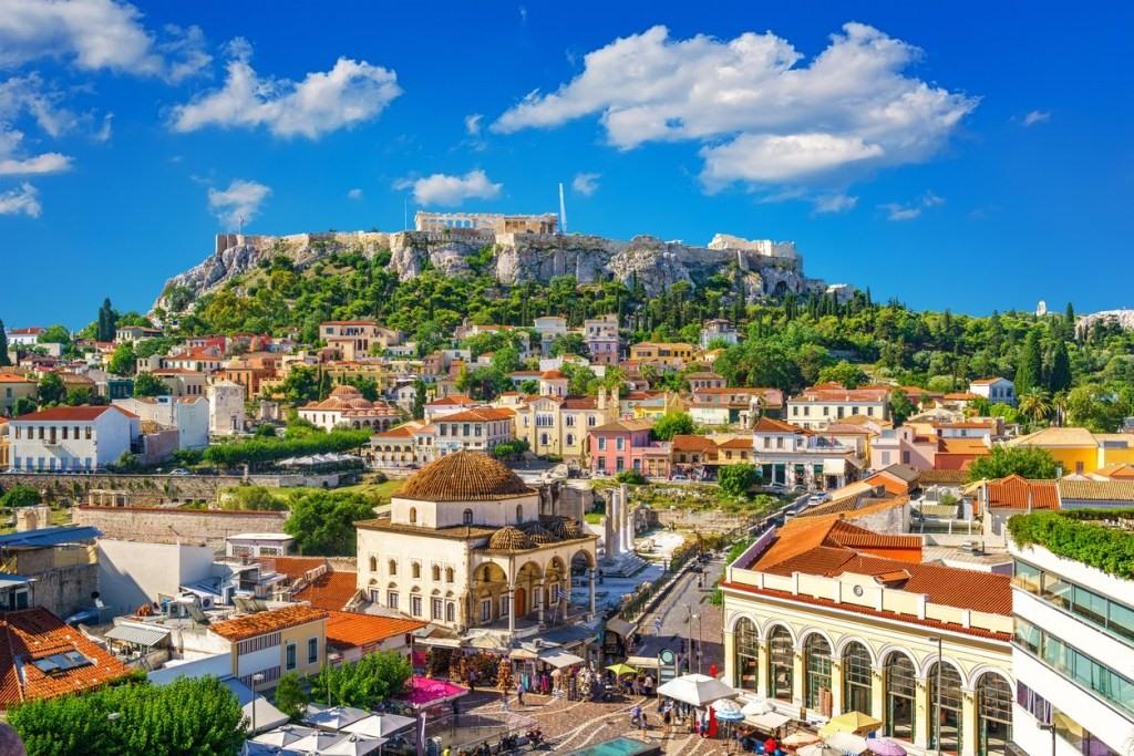 Athens - điểm đến nổi tiếng của Hy Lạp. Ảnh: PUREVACATIONS