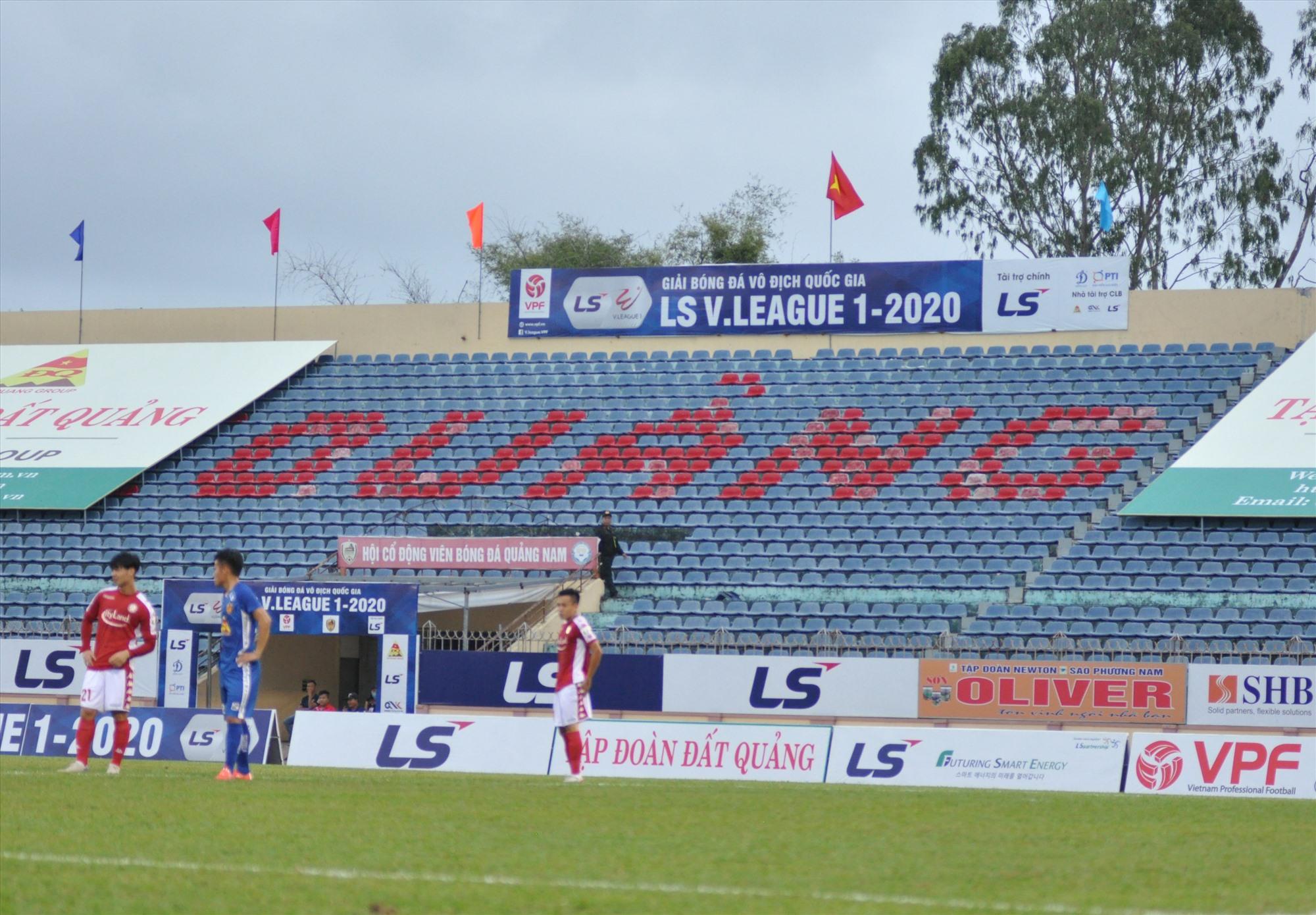 Hai vòng đầu tiên của V-League 2020 không có khán giả song sắp tới sẽ khác khi dịch Covid-19 đã được kiểm soát trên cả nước. Ảnh:A.S