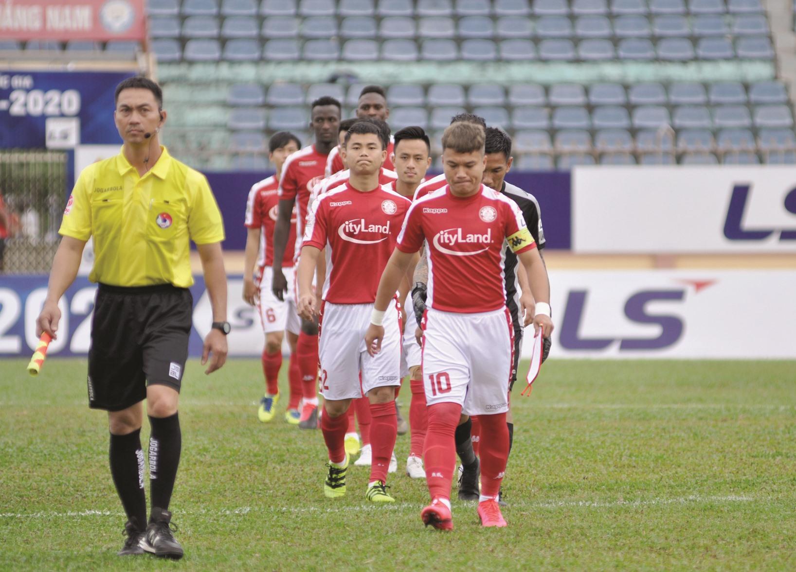 TP.Hồ Chí Minh có nhiều cơ hội lọt vào nhóm 8 đội đầu bảng để tranh chức vô địch theo thể thức thi đấu mới. Ảnh:T.VY