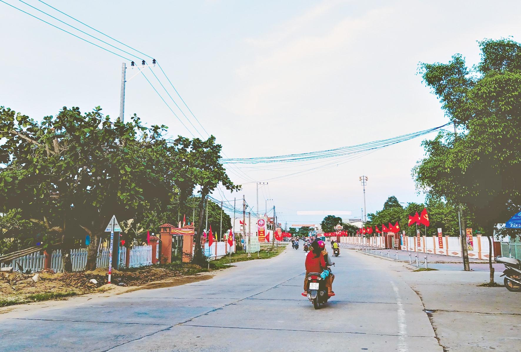 Đại Cường phấn đấu trở thành xã nông thôn mới nâng cao trong nhiệm kỳ 2020 - 2025. Ảnh: HOÀNG LIÊN