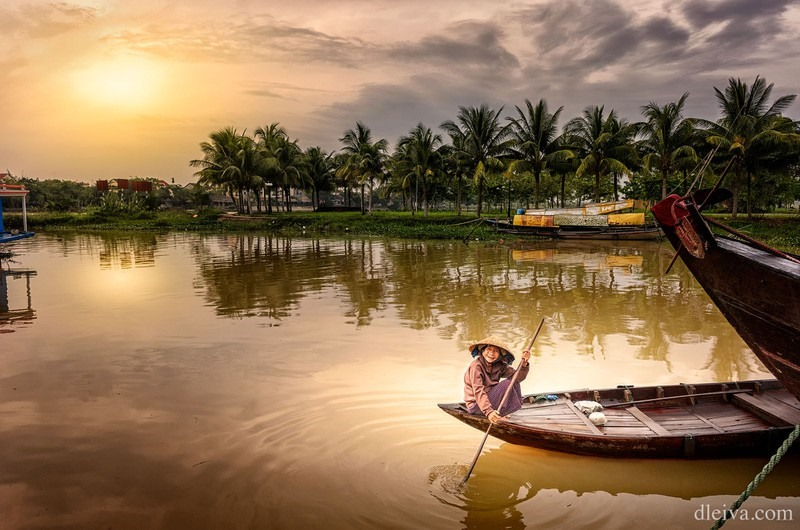 The dawn in Hoi An