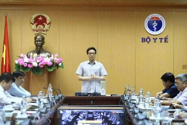 Phó Thủ tướng Vũ Đức Đam, Trưởng Ban chỉ đạo phát biểu. (Ảnh: Minh Quyết-TTXVN)