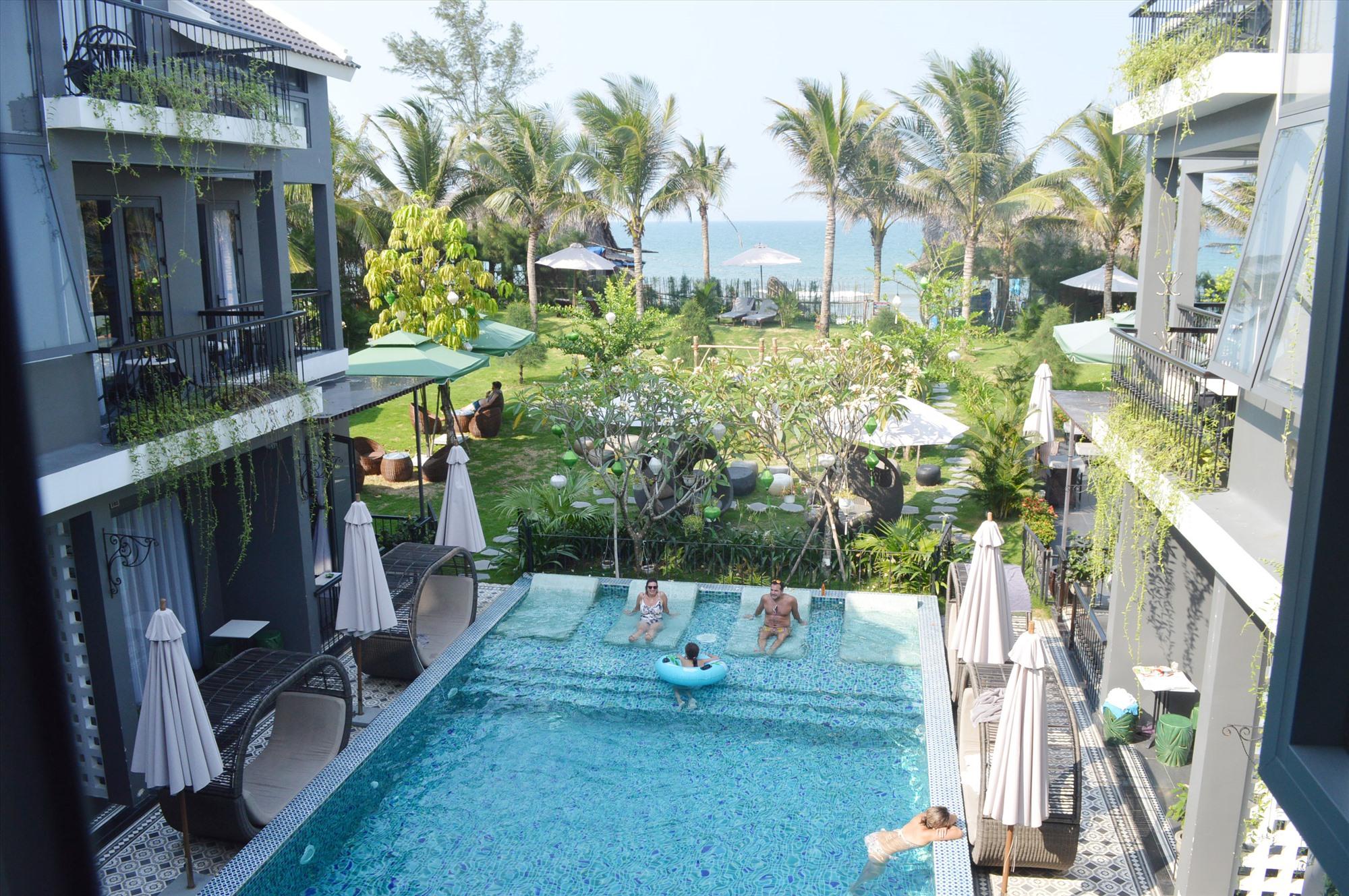 """Khách sạn Sea'Lavie Boutiqe Resort vẫn """"sống sót"""" qua mùa dịch."""