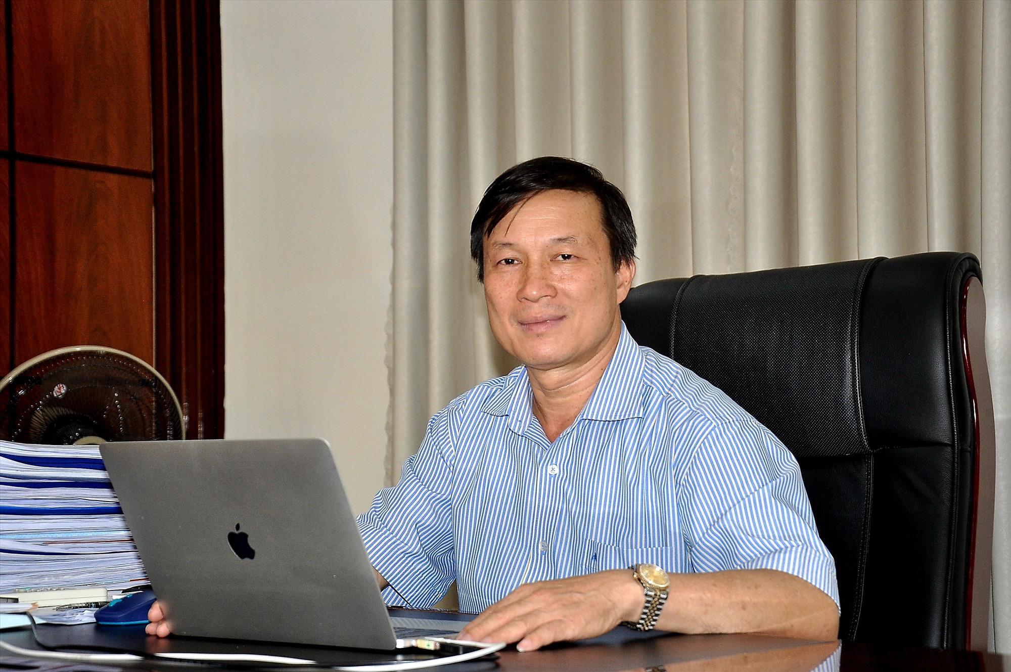 Ông Lê Ngọc Trung - Bí thư Đảng ủy, Giám đốc Sở NN&PTNT.