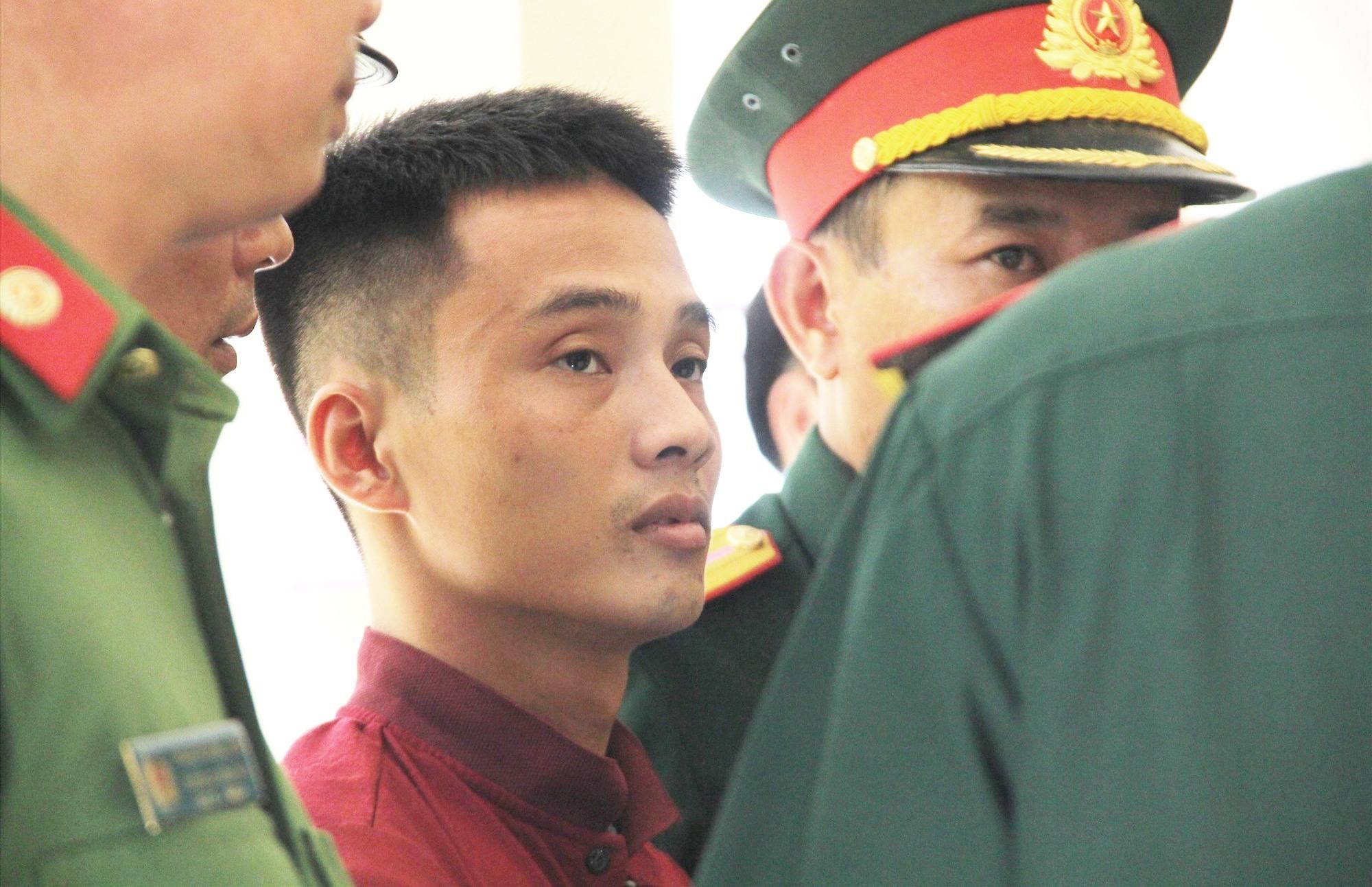 Triệu Quân Sự được áp giải về trại tạm giam Quân khu V ở TP.Đà Nẵng.