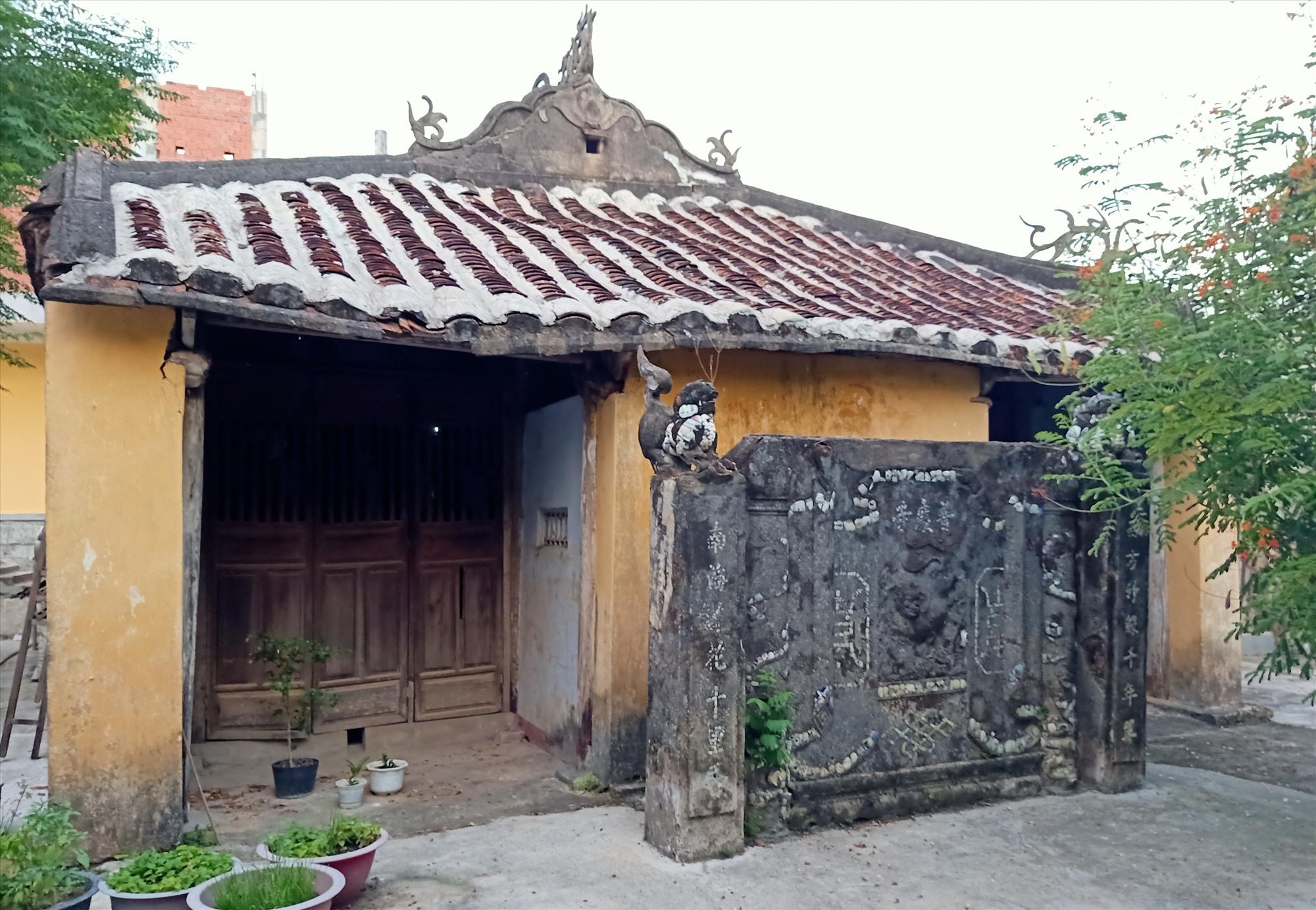 Chùa Phổ Khánh (xã Đại An, Đại Lộc) là ngôi cổ tự được lưu giữ ở xứ Quảng. Ảnh: HOÀNG LIÊN