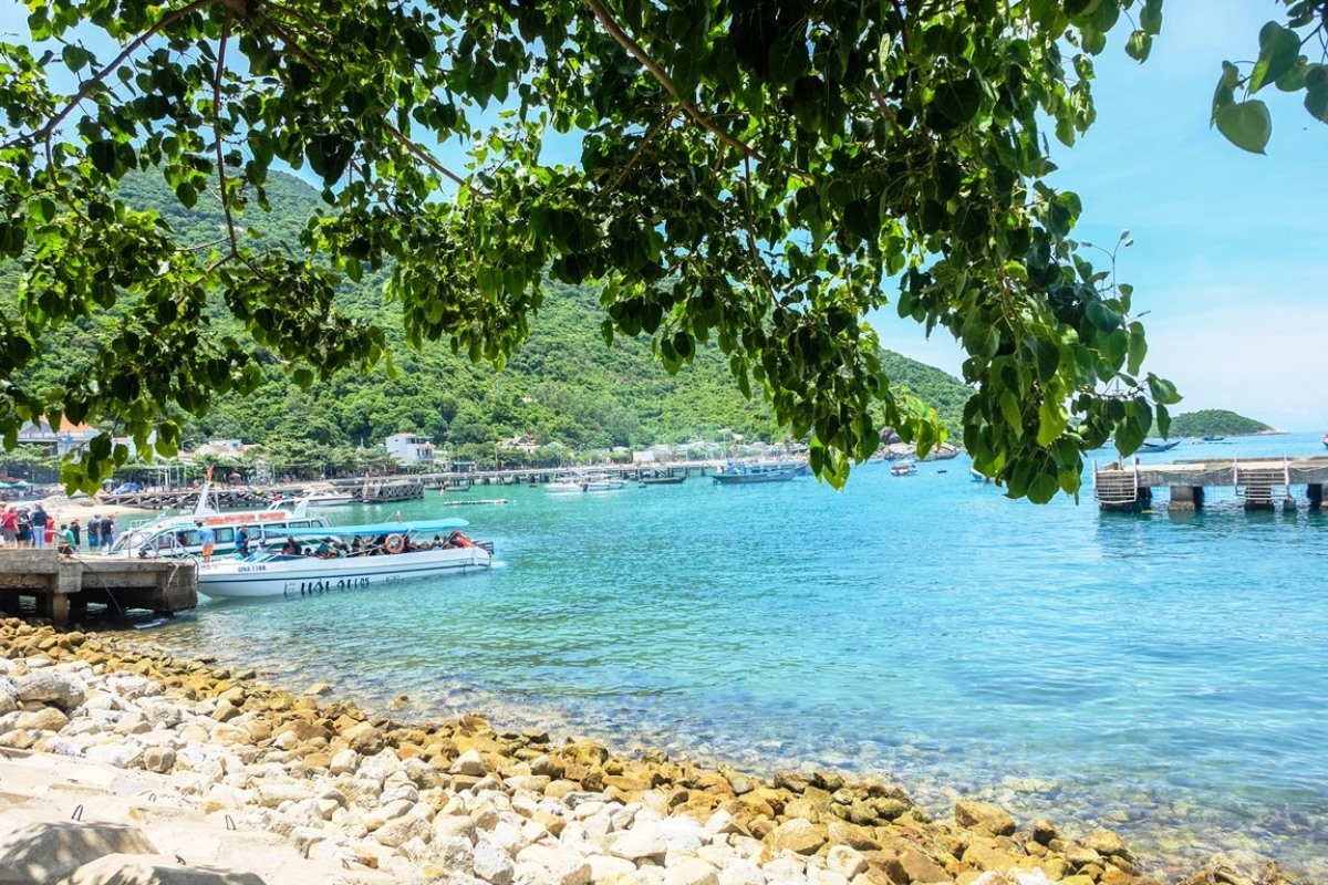 A beautiful view of Cham Islands
