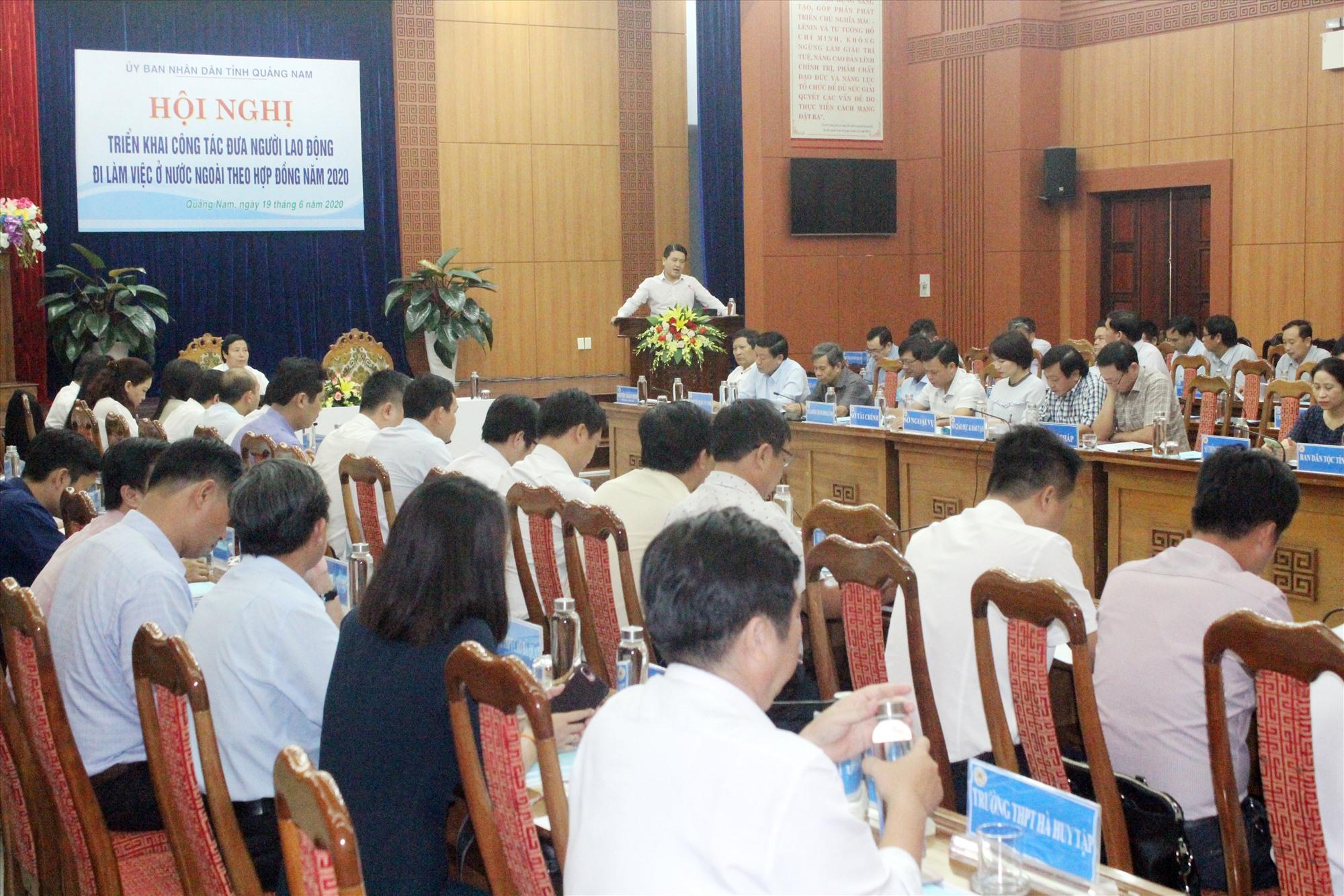 Công tác xuất khẩu lao động được khởi động lại với sự tham gia của nhiều đơn vị, cơ quan, doanh nghiệp. Ảnh: D.L