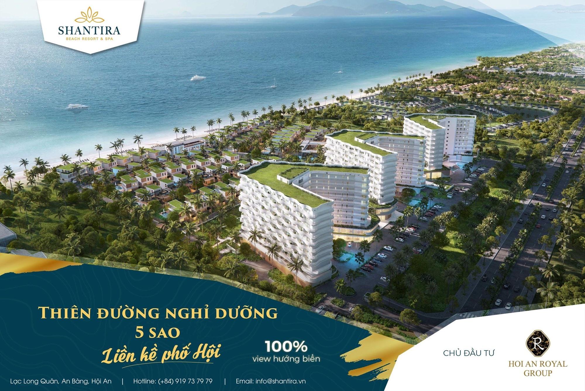Phối cảnh tổng thể dự án Khu nghỉ dưỡng Shantira Beach Resort &Spa.