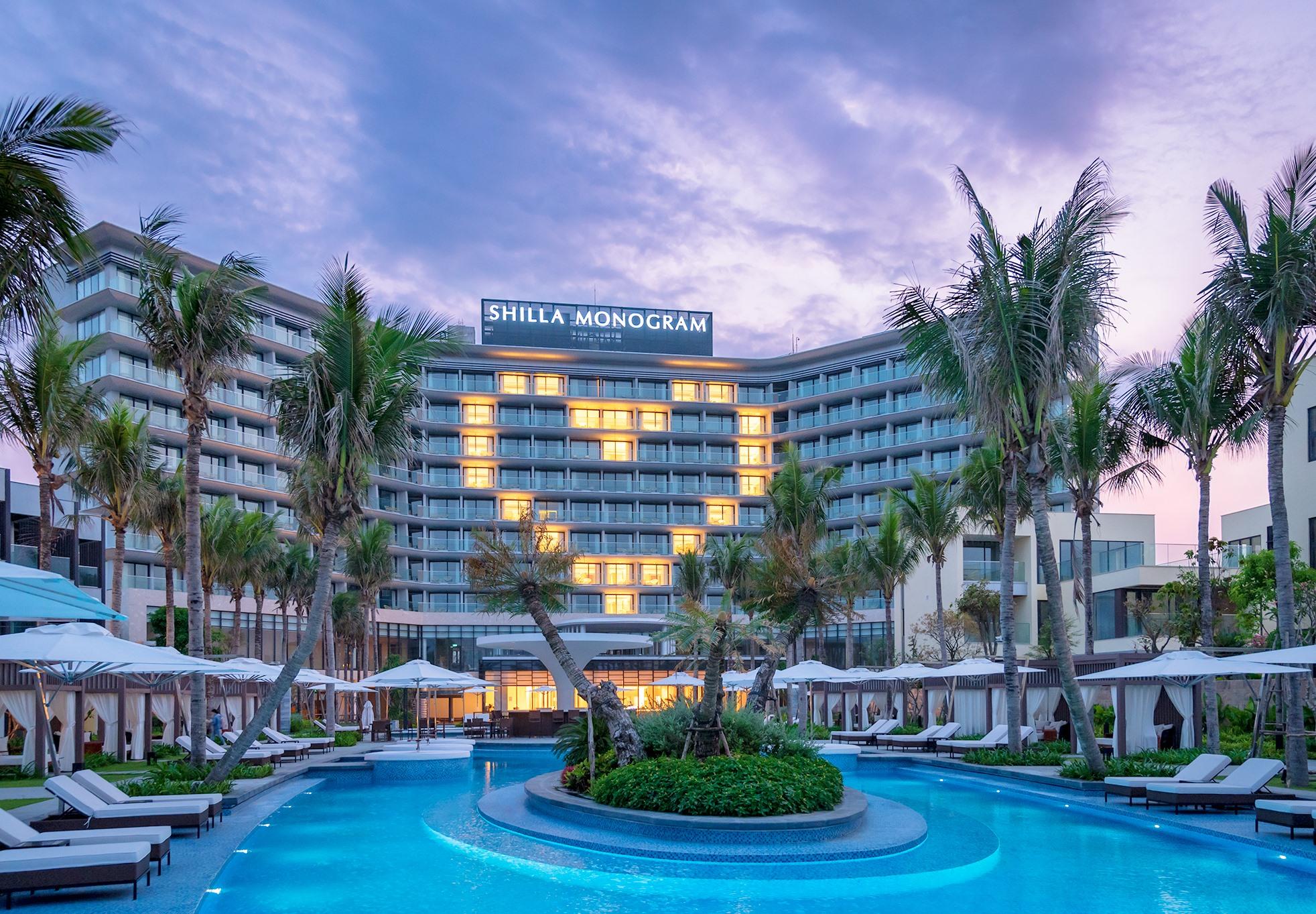Khách sạn Shilla Monogram Quangnam Danang sẽ khai trương đón khách trong tuần này. Ảnh: K.L