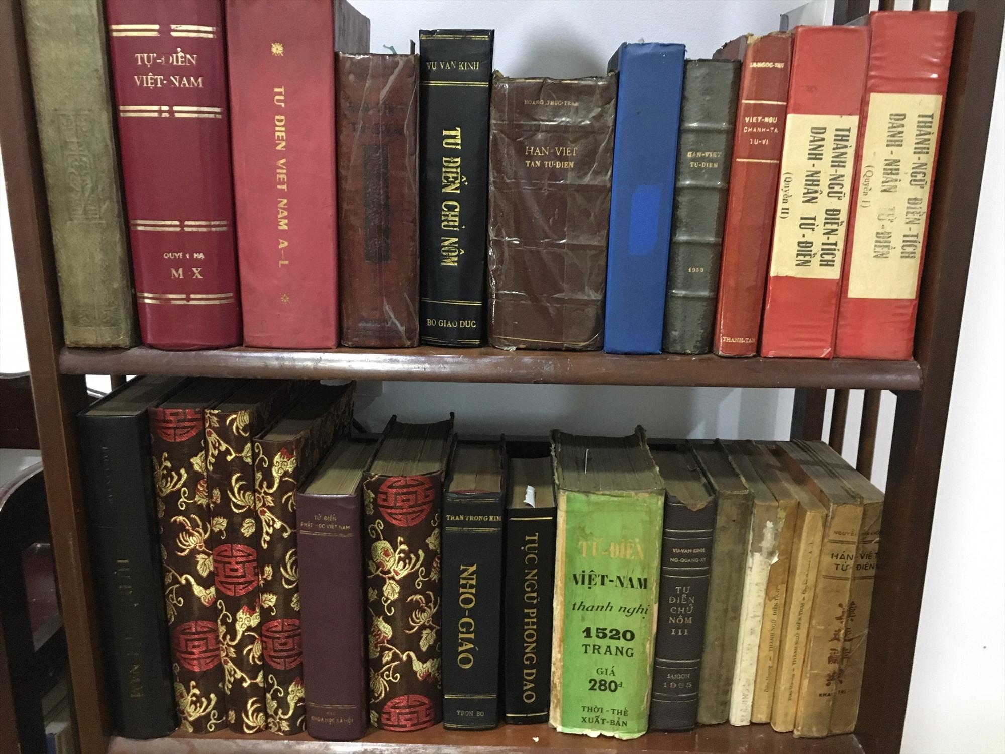 Các bộ tự điển có giá trị như một kho tàng ngôn ngữ của dân tộc ngày càng trở nên hiếm hoi.