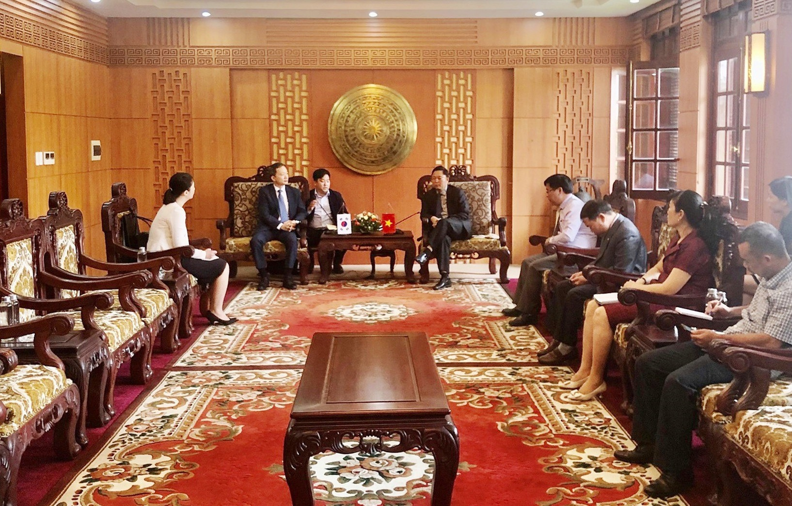 Hai bên kỳ vọng sẽ tiếp tục có nhiều bước tiến mới trong quan hệ hữu nghị giữa Quảng Nam và các địa phương của Hàn Quốc