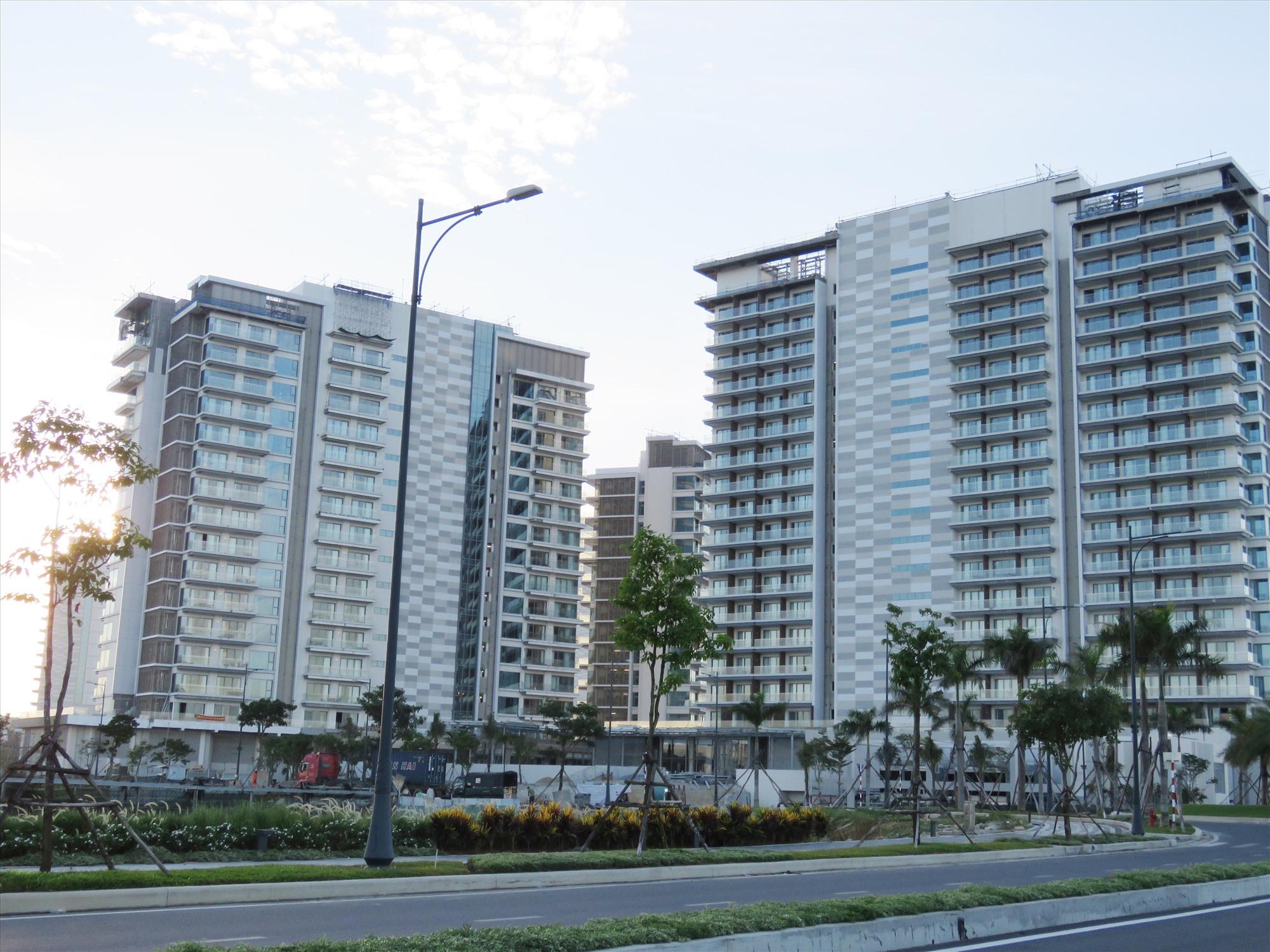 Casino đầu tiên ở Quảng Nam sắp hoàn thành xây dựng. Ảnh: T.V
