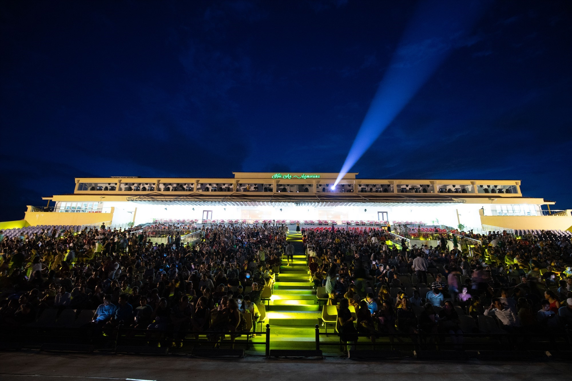Full grandstand of the Hoi An Memories show
